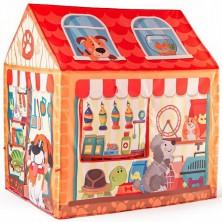 Dětský domeček - Stan prodejna Pet Shop (Woody)