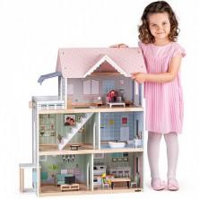 Domeček pro panenky - Se zvonkem a světlem Molly (Woody)