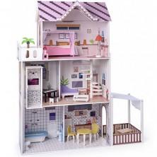 Domeček pro panenky - Růžový s výtahem Malibu (Woody)