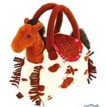 Kabelka se zvířátkem - Plyšový koník v kabelce (Legler)