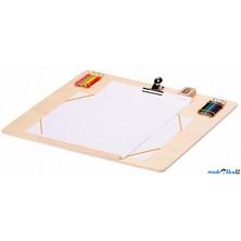 Rýsovací deska - Dřevěná A4 s příslušenstvím (Legler)
