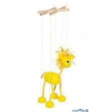 Loutka marioneta - Žlutý lev (Goki)