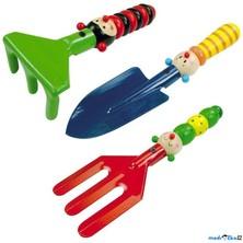 Zahradní nářadí - Dětský set 3 druhy (Woody)