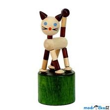 Mačkací figurka - Kočka retro (Detoa)