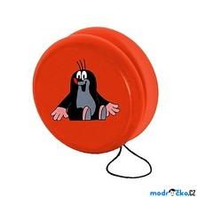 Drobné hračky - Jojo Krtek, červené (Detoa)