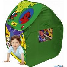 K's Kids - Dětský domeček - Dětský stan s plastovými míčky