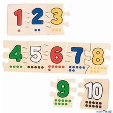 Puzzle výukové - Řetěz z čísel (Goki)