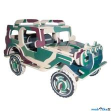 3D Puzzle barevné - Jeep