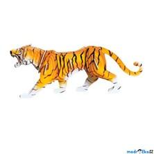 3D Puzzle barevné - Tygr