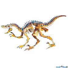 3D Puzzle barevné - Velociraptor