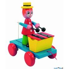 Tahací hračka - Xylofón klaun (Woody)