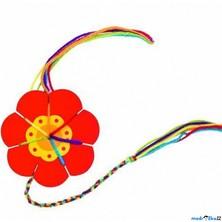 Štrykovačka - Pletací květina na provázky přátelství (Goki)