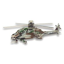 3D Puzzle barevné - Helikoptéra Apache