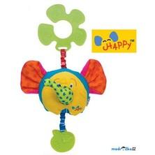K's Kids - Šťastný slon s úchytem na kočárek