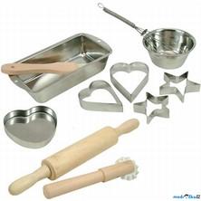 Kuchyň - Sada na pečení s tvořítky, 11ks (Bino)