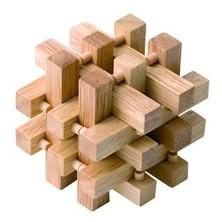 Hlavolam dřevěný - Klec (Woody)