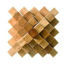 Hlavolam dřevěný - Krystal (Woody)