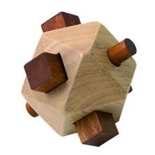 Hlavolam dřevěný - Kvádr/tyčka (Woody)