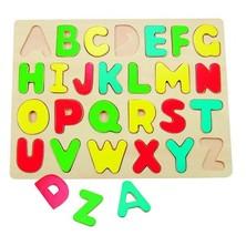 Puzzle výukové - Abeceda na desce, větší (Woody)