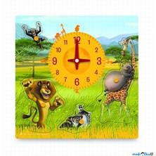 Puzzle hodiny - Madagaskar (Woody)