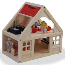 Domeček pro panenky - S vybavením (Woody)