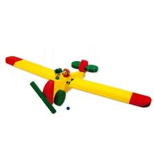 Závěsná hračka - Letadlo s panáčky (Mertens)
