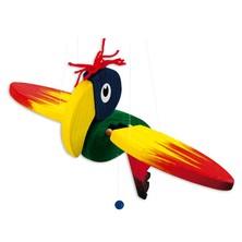 Závěsná hračka - Papoušek malý (Bino)