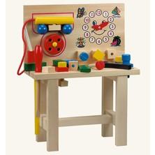 Malý kutil - Pracovní stůl s telefonem (Bino)