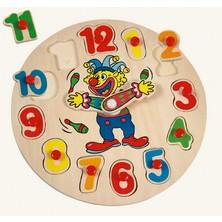 Puzzle hodiny - Žonglující klaun (Bino)