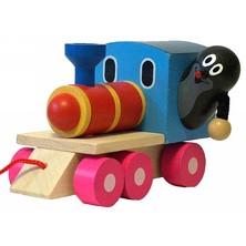 Vlak tahací - Mašinka a Krtek (Detoa)