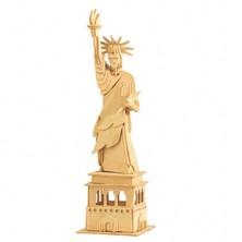 3D Puzzle přírodní - Socha svobody
