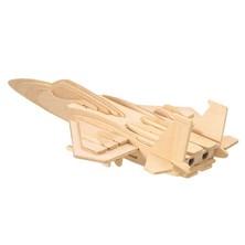 3D Puzzle přírodní - Stíhačka F-15