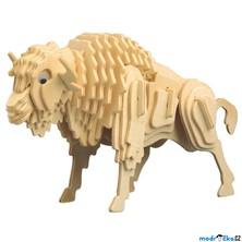 3D Puzzle přírodní - Bizón