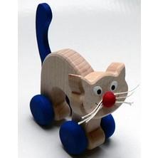 Zvířátko na kolečkách - Kočka (Makovský)