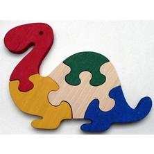 Puzzle z masivu - Brontosaurus (Makovský)