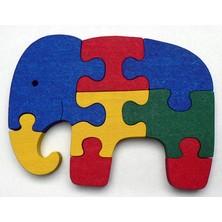 Puzzle z masivu  - Slon (Makovský)