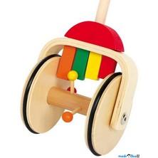 Jezdík na tyči - Klepající xylofon (Legler)