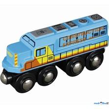 Vláčkodráha vláčky - Lokomotiva nákladní (Maxim)