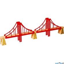 Vláčkodráha mosty - Dvojitý železniční most (Bigjigs)
