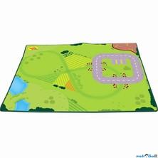 Dětský koberec - Hrací podložka pro vláčkodráhu (Bigjigs)