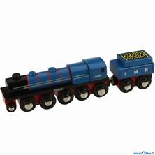 Vláčkodráha vláčky - Lokomotiva LMR Gordon (Bigjigs)