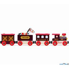 Vláčkodráha vláčky - Divoký západ vlak (Janod)