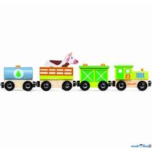 Vláčkodráha vláčky - Farmářský vlak (Janod)