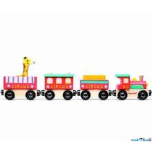 Vláčkodráha vláčky - Cirkusový vlak (Janod)