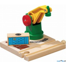 Vláčkodráha jeřáby - Jeřáb s magnetickým nákladem (Brio)
