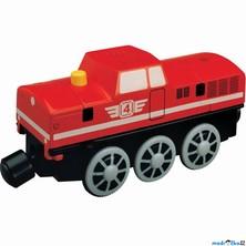 Vláčkodráha vláčky - Elektrická lokomotiva, dieslová (Maxim)