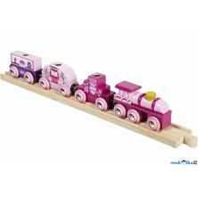 Vláčkodráha vláčky - Vlak pro princezny (Bigjigs)