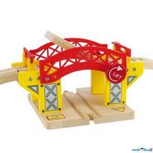Vláčkodráha mosty - Most zvedací (Bigjigs)