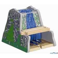 Vláčkodráha tunely - Tunel s vodopádem (Maxim)