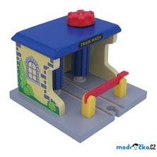 Vláčkodráha budovy - Vlaková myčka (Maxim)